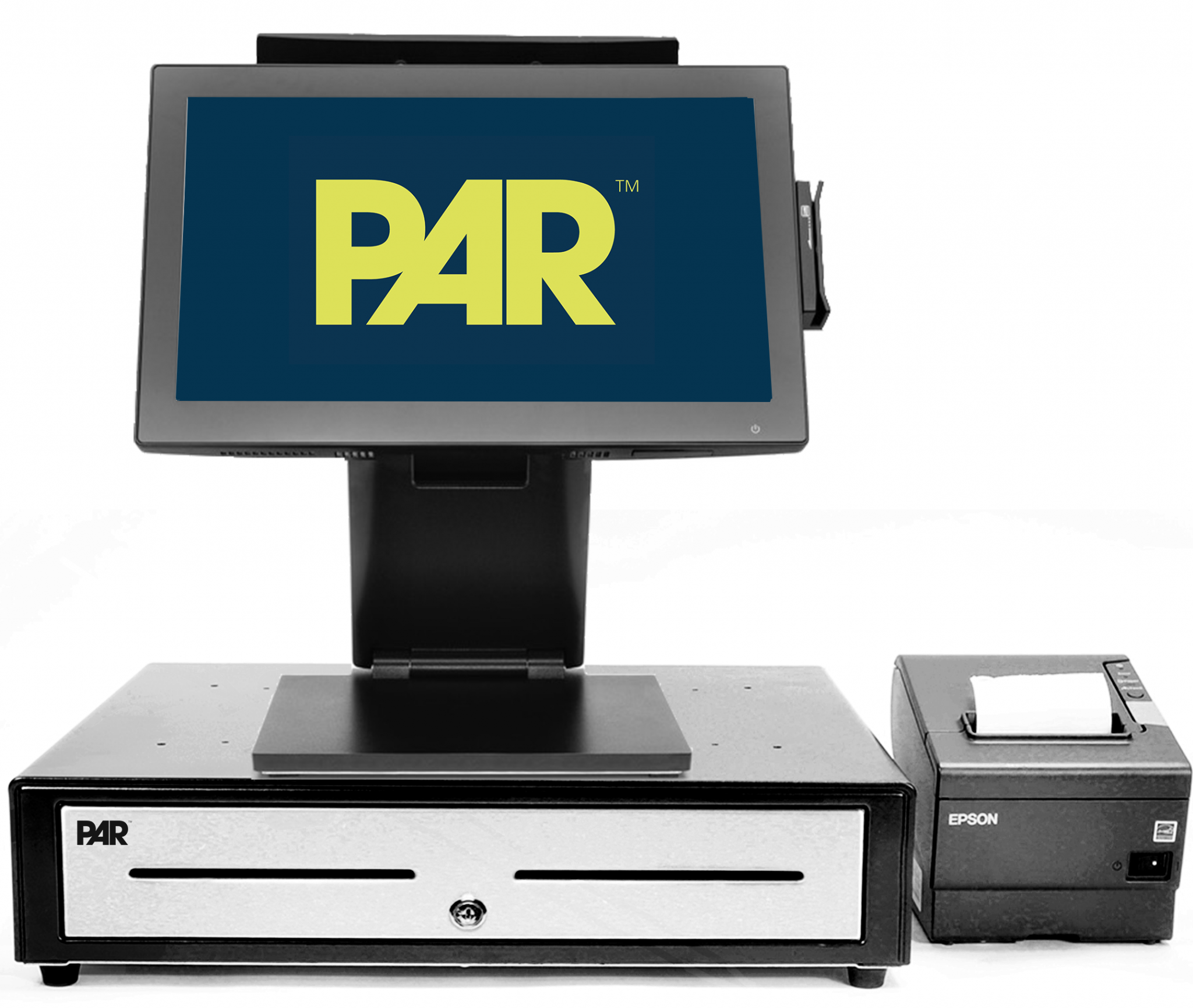 PAR Console with Printer and Register